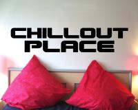 Wandtattoo 'Chillout  Place'
