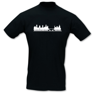 T-Shirt Brandenburg an der Havel Skyline