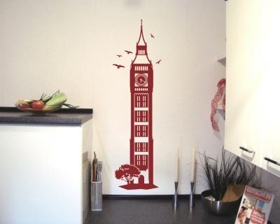 Wandtattoo The Clock Tower / Big Ben Wandtattoo