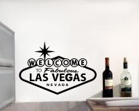 Wandtattoo 'Welcome to Las Vegas'