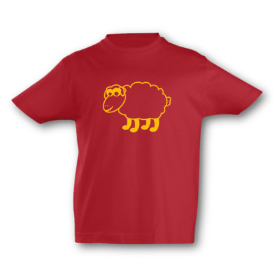Kinder T-Shirt Schaf Kinder T-Shirt