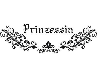 Wandtattoo prinzessin wandaufkleber plot4u - Prinzessin wandtattoo ...