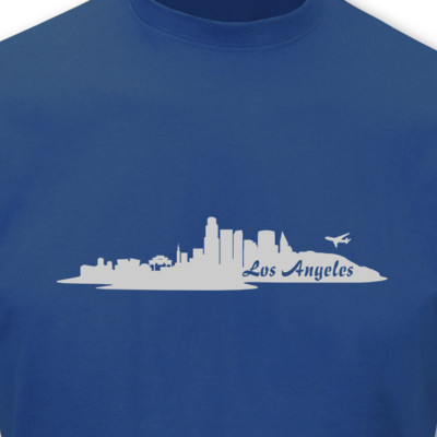 T-Shirt Los Angeles Skyline LA T-Shirt