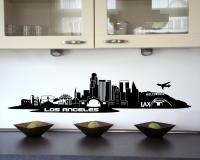 Wandtattoo Los Angeles LA Skyline
