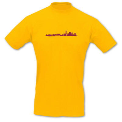 T-Shirt Chicago Skyline