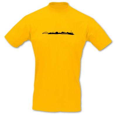 T-Shirt Saarbrücken Skyline T-Shirt