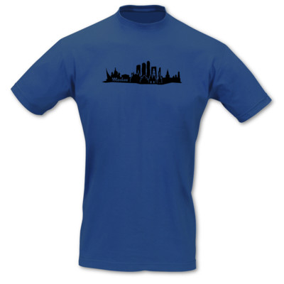 T-Shirt Moskau Skyline
