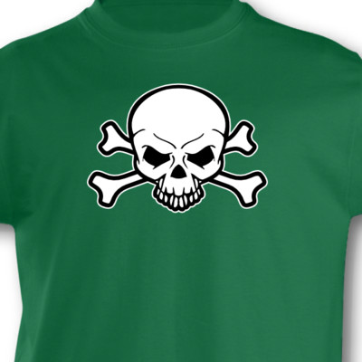 Kinder T-Shirt Piraten Totenkopf Kinder T-Shirt