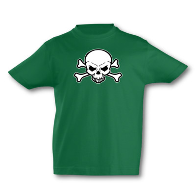 Kinder T-Shirt Piraten Totenkopf