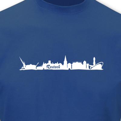 T-Shirt Rostock Skyline T-Shirt