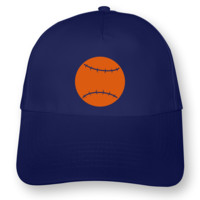 Baseball Kappe Kids Kappe Modellnummer 001178-903-442  royal blau/neon orange