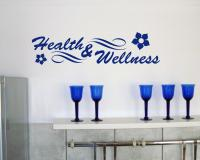 Wandtattoo Health & Wellness