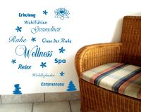 Wandtattoo Wellness Creativ-Set