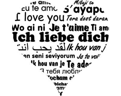 Ich liebe dich in 20 verschiedenen Sprachen