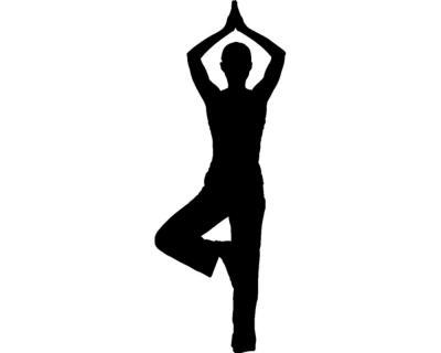 wandtattoo yoga baum wandaufkleber 25 farben 8 gr en ebay. Black Bedroom Furniture Sets. Home Design Ideas