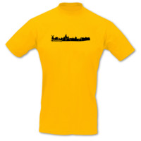 T-Shirt Oldenburg Skyline T-Shirt Modellnummer 001230-020-402  goldgelb/schwarz