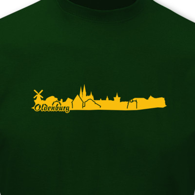 T-Shirt Oldenburg Skyline T-Shirt