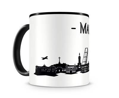 Tasse Madrid Skyline