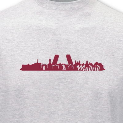 T-Shirt Madrid Skyline T-Shirt