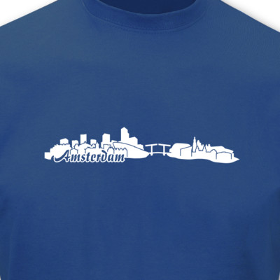 T-Shirt Amsterdam Skyline T-Shirt