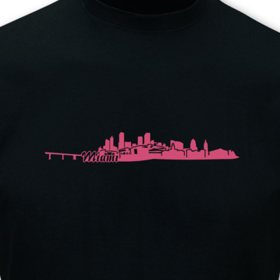T-Shirt Miami Skyline T-Shirt