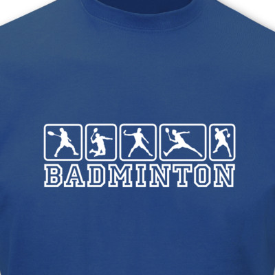 T-Shirt Badminton T-Shirt