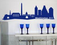 Washington, D.C. Skyline Wandtattoo