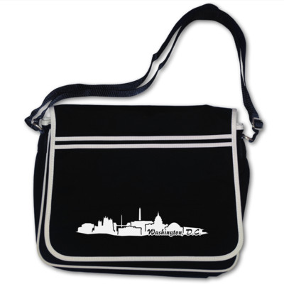 Washington, D.C. Silhouetten Tasche