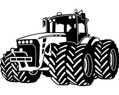 Wandtattoo Trecker Traktor Kinderzimmer Spielzimmer Plot4u