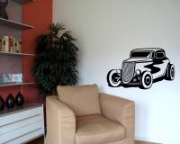 Wandtattoo Hot Rod Oldtimer