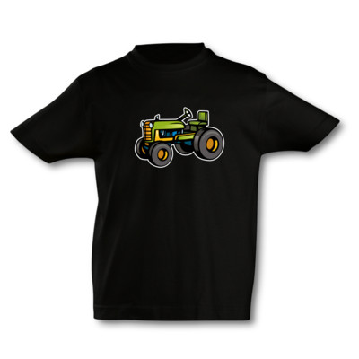 Kinder T-Shirt alter Trecker