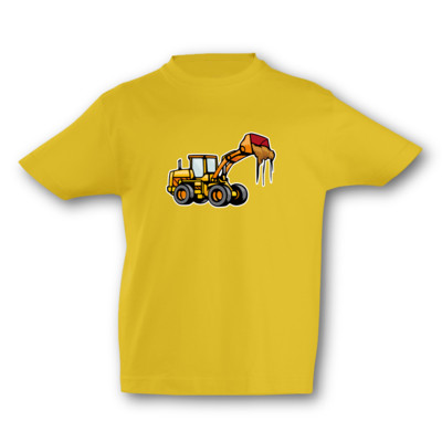 Kinder T-Shirt Radlader Kinder T-Shirt