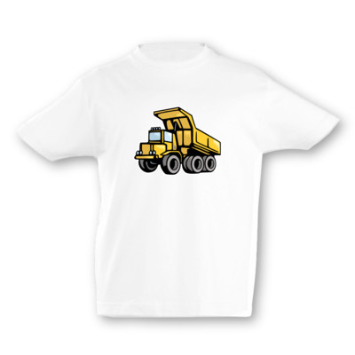 Kinder T-Shirt Kipplaster Kinder T-Shirt
