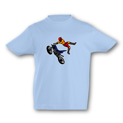Kinder T-Shirt Motocross Jump