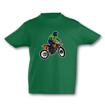 Kinder T-Shirt Motocross Kinder T-Shirt