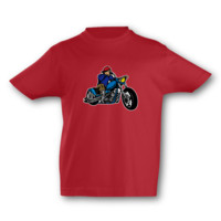 Kinder T-Shirt Old School Chopper Kinder T-Shirt Modellnummer 001598-904-998  rot/farbiger Aufdruck