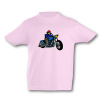 Kinder T-Shirt Old School Chopper Kinder T-Shirt Modellnummer 001598-906-998  pink/farbiger Aufdruck
