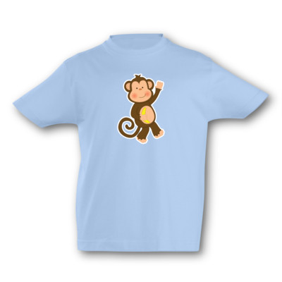 Kinder T-Shirt Affe