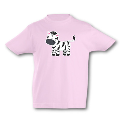 Kinder T-Shirt Zebra