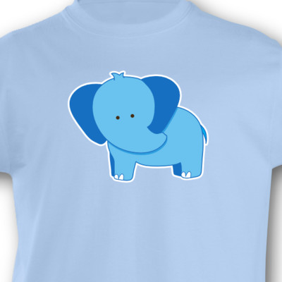 Kinder T-Shirt Elefant Kinder T-Shirt