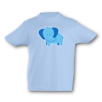 Kinder T-Shirt Elefant