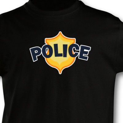 Kinder T-Shirt Polizei Kinder T-Shirt