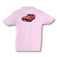 Kinder T-Shirt Pony Car Kinder T-Shirt Modellnummer 001633-906-998  pink/farbiger Aufdruck