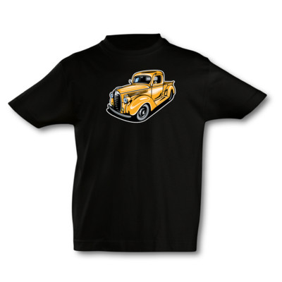 Kinder T-Shirt Oldtimer Pickup Kinder T-Shirt
