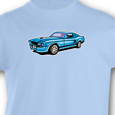 Kinder T-Shirt Muscle Car Kinder T-Shirt