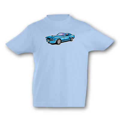 Kinder T-Shirt Muscle Car