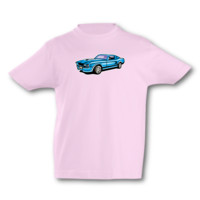 Kinder T-Shirt Muscle Car Kinder T-Shirt Modellnummer 001636-906-998  pink/farbiger Aufdruck