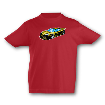 Kinder T-Shirt Sportwagen Kinder T-Shirt