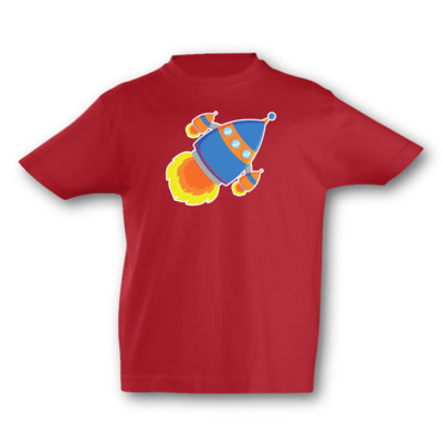 Kinder T-Shirt Raumschiff Kinder T-Shirt