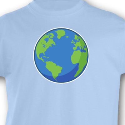 Kinder T-Shirt Planet Erde Kinder T-Shirt